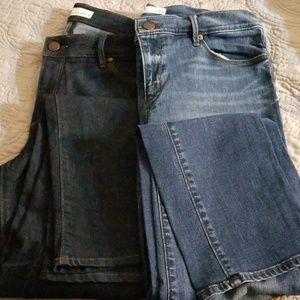 2 pr Loft Jeans